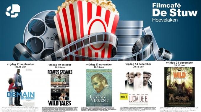 Filmcafé De Stuw: programma najaar 2018